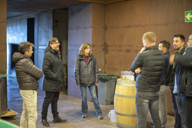 Visita comercial al celler de Trossos del Priorat (Gratallops)
