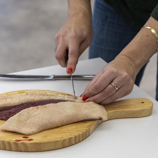Demostració de productes Volex de l'empresa Global Foie
